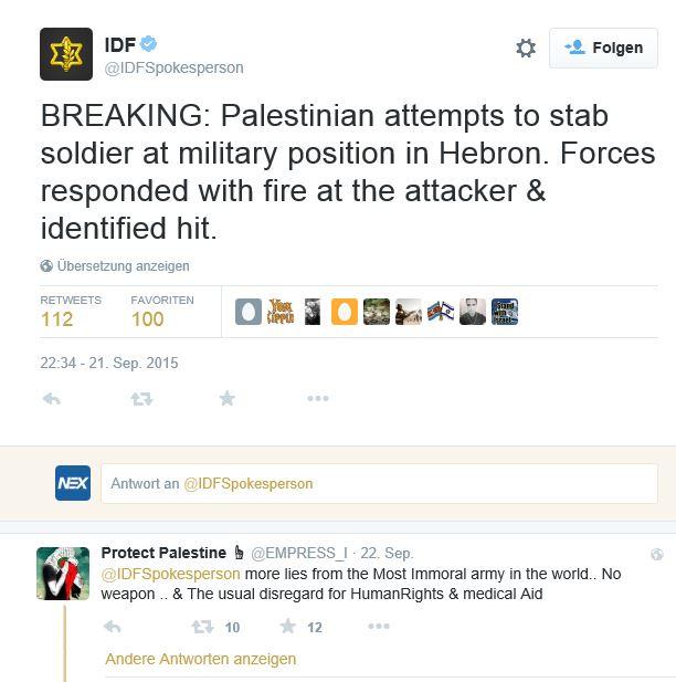 (Foto: IDF/Twitter)