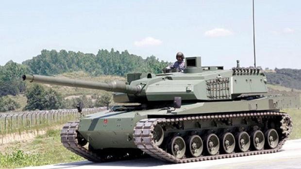 Türkischer Panzer Altay (Foto: aksam)