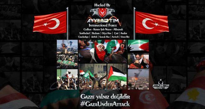 (Foto: Ayyildiz hackt israelisches Fernsehen)
