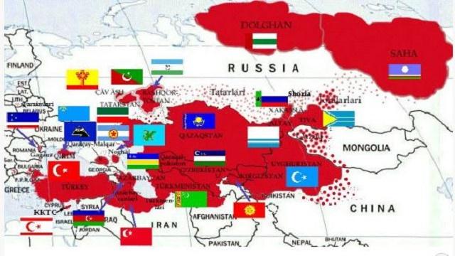 Turkvölker (Grafik: eurasianews)