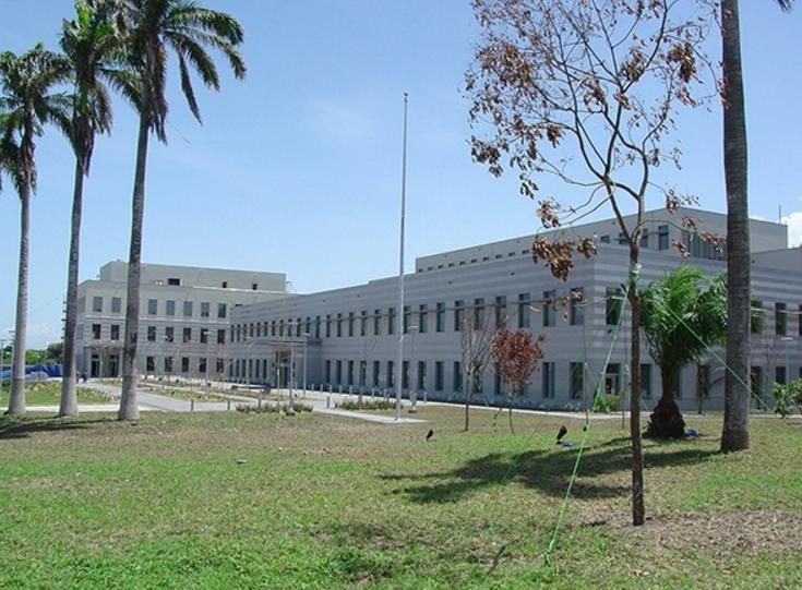 Die echte uS-Botschaft in Ghana (Foto: US-Statedepartment)