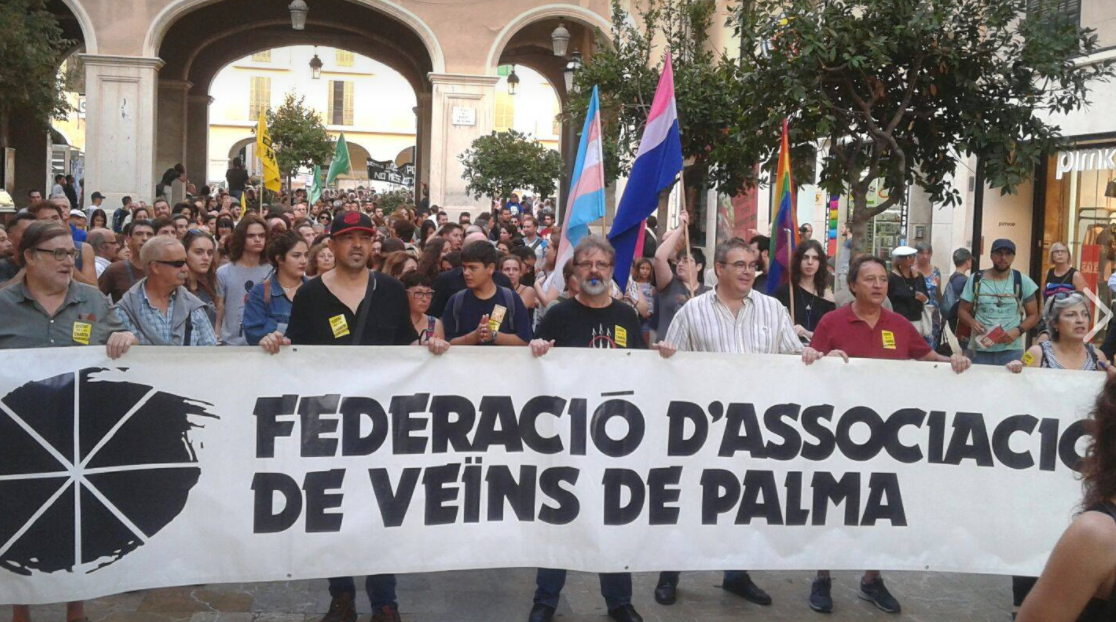 Mallorca: Demo gegen Touristen