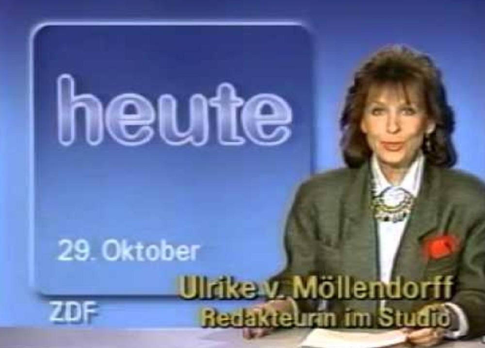 Frühere ZDF-Moderatorin Ulrike von Möllendorff gestorben