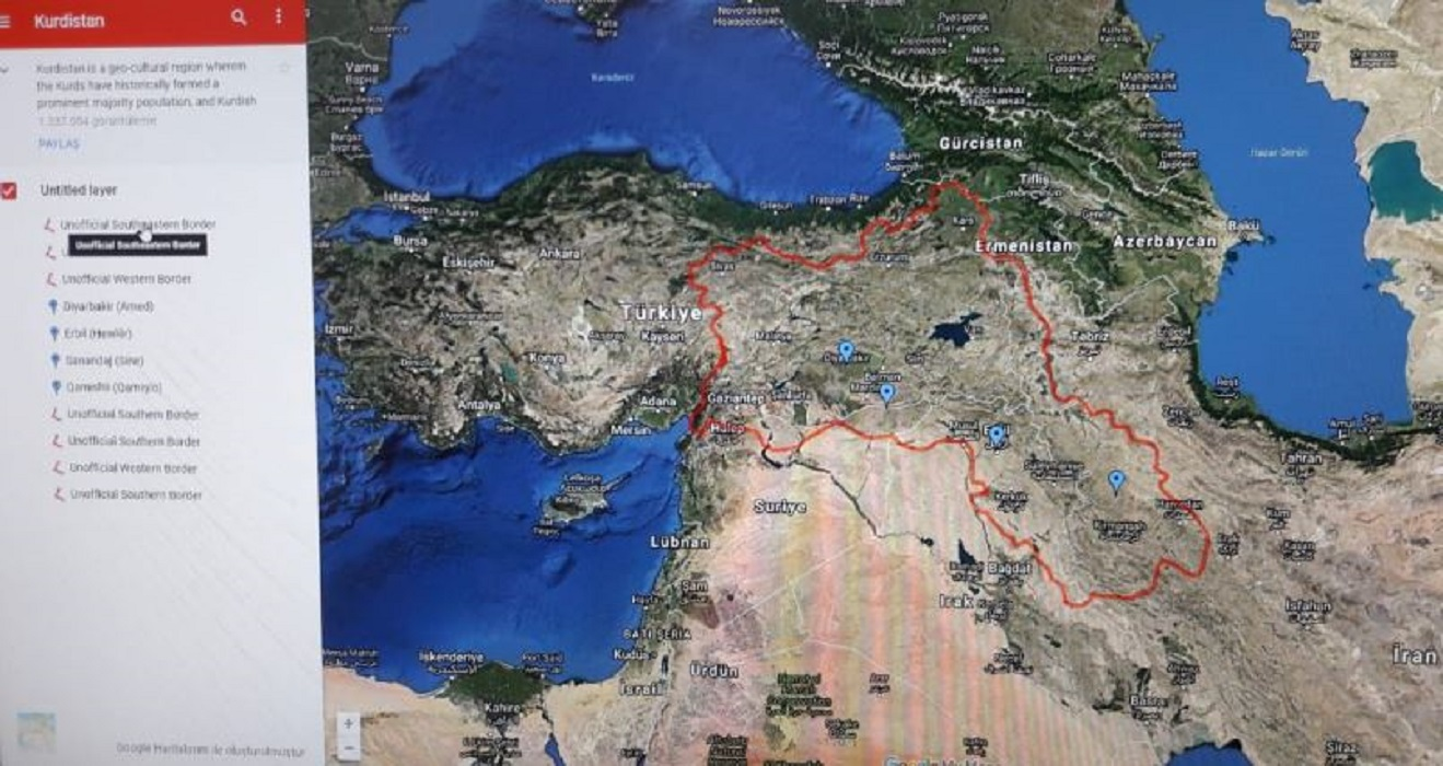 Kurdistan Karte 2019.Turkei Oppositionspartei Fordert Entfernung Kurdistans